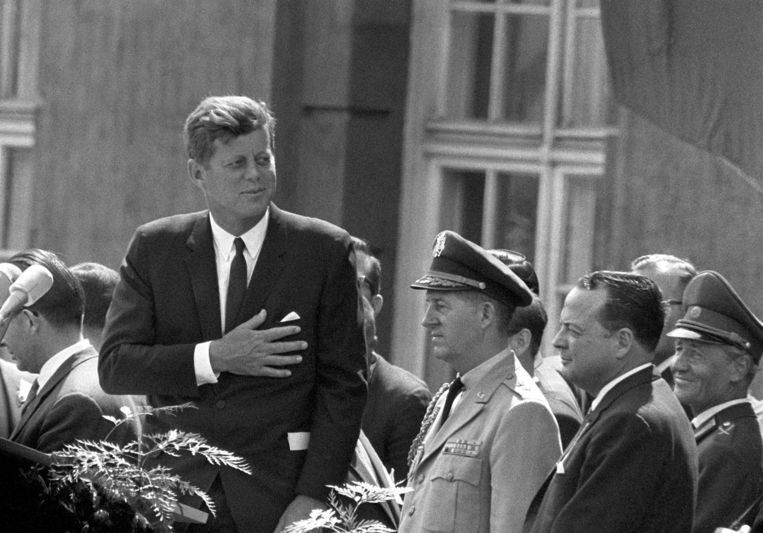 John F. Kennedy Beeld AFP