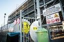Extra desinfectiemaatregelen bij slachthuis Van Rooi Meat in Helmond.