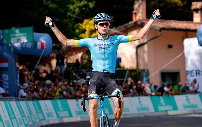 Vlasov was vorig jaar de beste op de klim naar San Luca in de Ronde van Emilië.