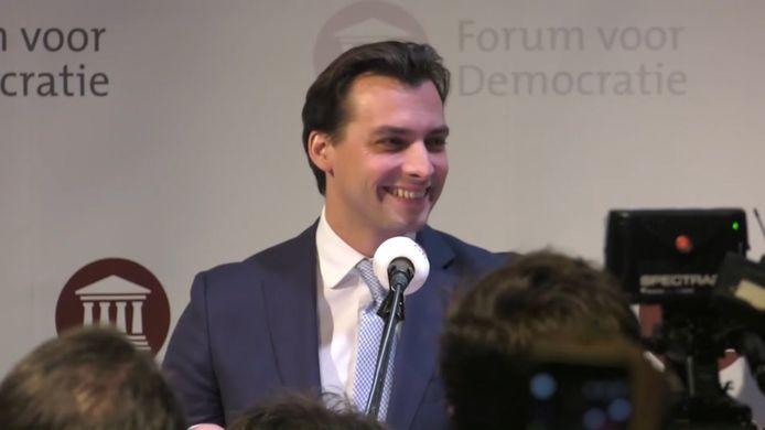 Baudet met Forum voor Democratie grote winnaar