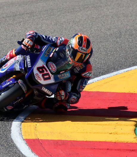 Van der Mark zesde in tweede race van het weekend, wereldkampioen Rea wint