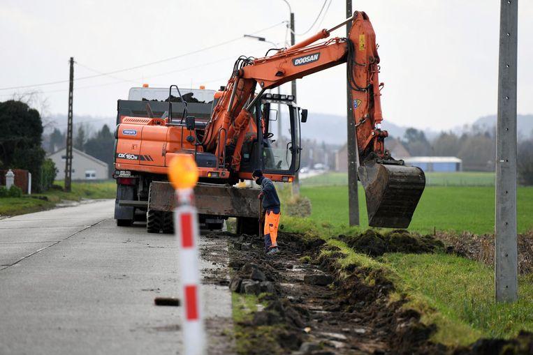 De Meerbeeksesteenweg ligt opnieuw open.
