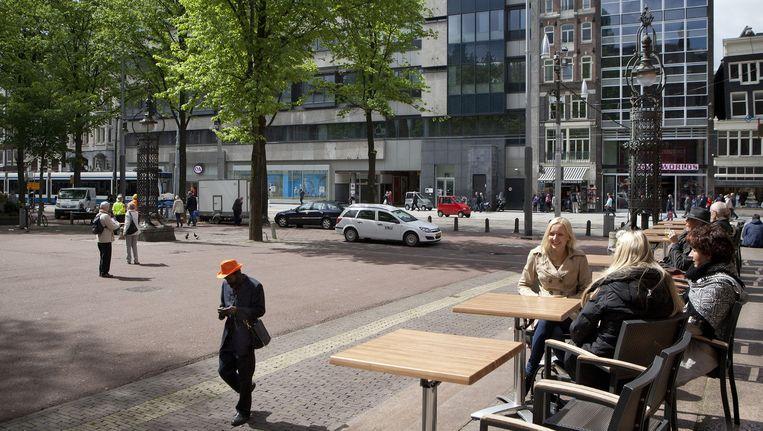 'Waarom kan er niet gewoon een beetje een leeg plein zijn in de stad?' Beeld Floris Lok