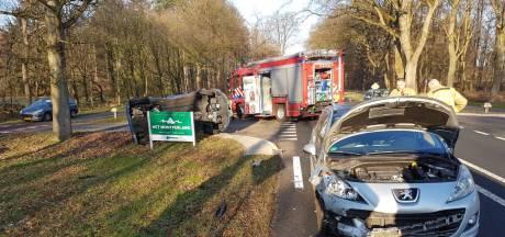 Automobilisten hebben engeltje op hun schouder: na heftige botsing geen gewonden