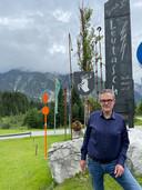 Andries Bruil in Oostenrijk, waar EuroParcs inmiddels ook meerdere resorts bezit.