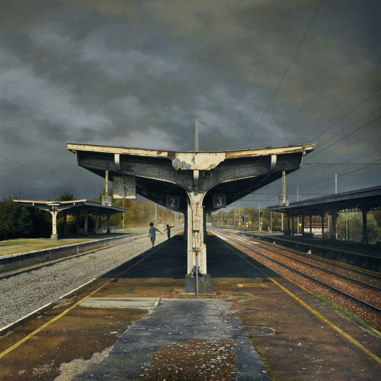 Dimitri Desiron, Station, 2016 Beeld Dimitri Desiron / Galerie Mokum