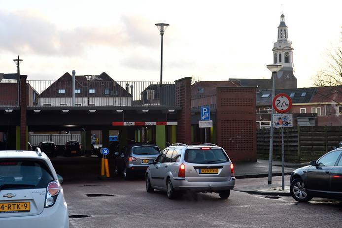 Parkeergarage De Bonte Koe aan de noordkant van de binnenstad krijgt er 52 plaatsen bij.