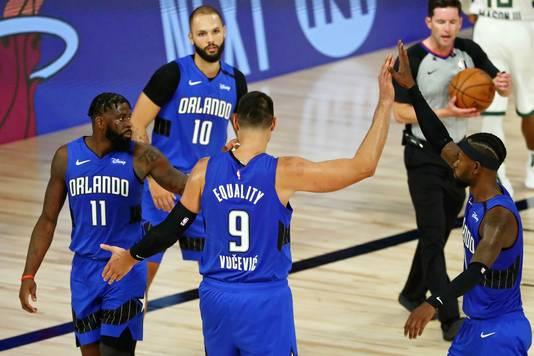 Orlando Magic klopte the Milwaukee Bucks.