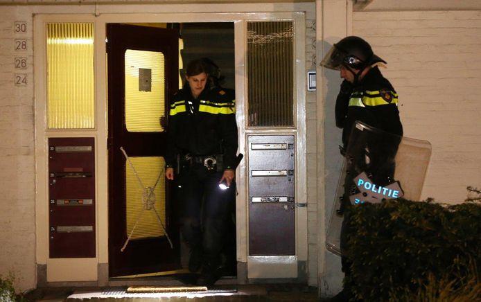 Politie doet onderzoek op Molenweg