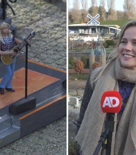 Video van de Dag | Ilse de Lange maakt zich klein
