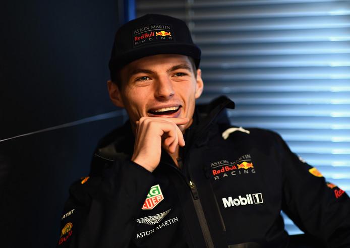 Max Verstappen in Barcelona.