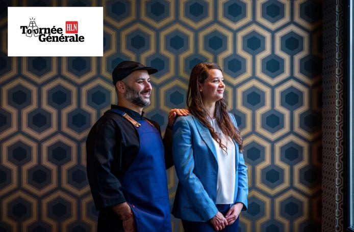 Tommy Cavalière en Thalissa Kraus van restaurant The London.