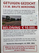 De vader van Jordy (22) - slachtoffer van een brute beroving - looft 10.000 euro tipgeld uit om de dader(s) op te sporen.