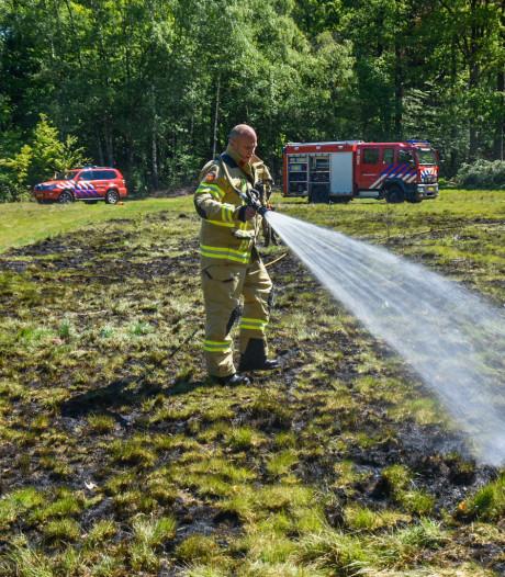 Brand in weiland bij Oosterbeek; mogelijk opzet in het spel