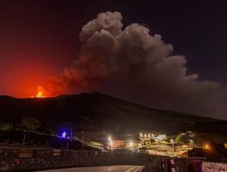 Vulkaan Etna op Sicilië opnieuw uitgebarsten
