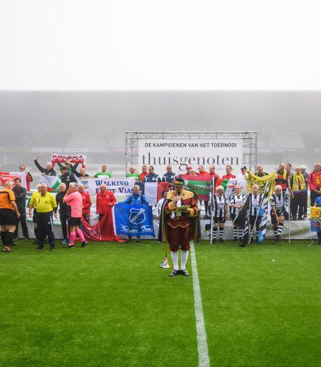 Eerste lustrum Almelo City Cup: voor voetballers die nooit met pensioen willen