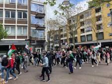 Burgemeester Bruls ontbindt pro-Palestijns protest in Nijmeegs centrum
