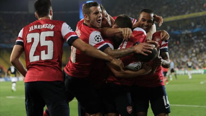 Arsenal in Europa wel succesvol
