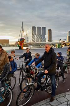 De fiets is in Rotterdam de nieuwe 'heilige koe'