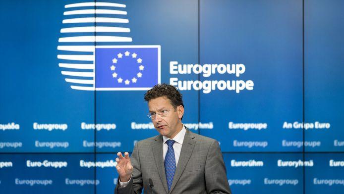Eurogroepvoorzitter Jeroen Dijsselbloem.