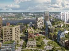 Zo mooi wordt het langs het spoor in Dordrecht: 'Maar niet hoger dan de Grote Kerk'