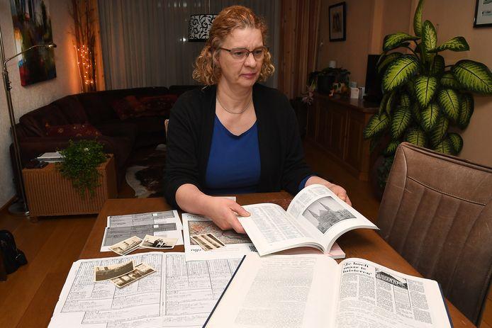 Sylvia Daame zoekt de geschiedenis van haar familie uit. Dat is haar hobby en passie.