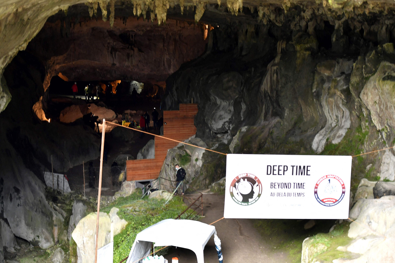 Het experiment werd 'Deep Time' gedoopt.