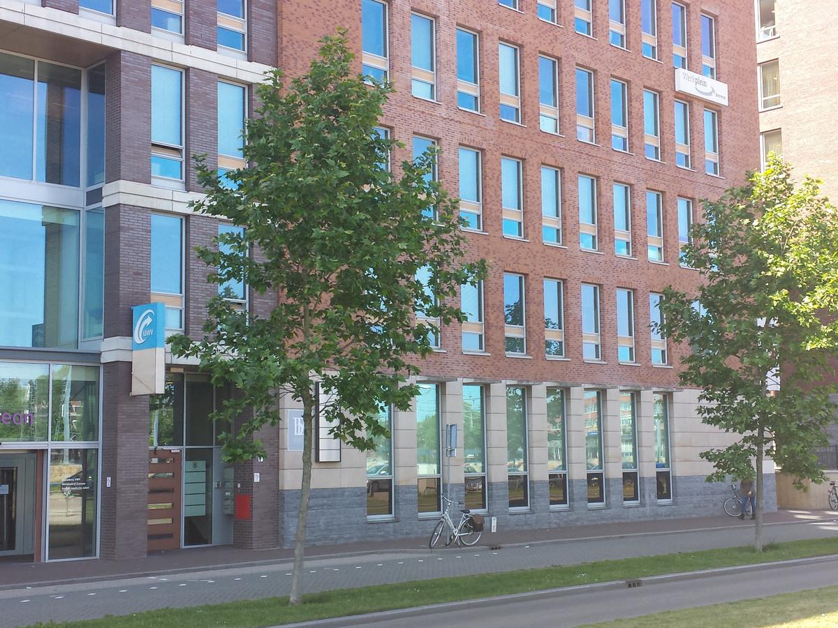 De UWV-vestiging aan de Magistratenlaan.