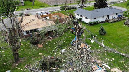 Ravage in Verenigde Staten: acht staten getroffen door meer dan 50 tornado's in 24 uur tijd