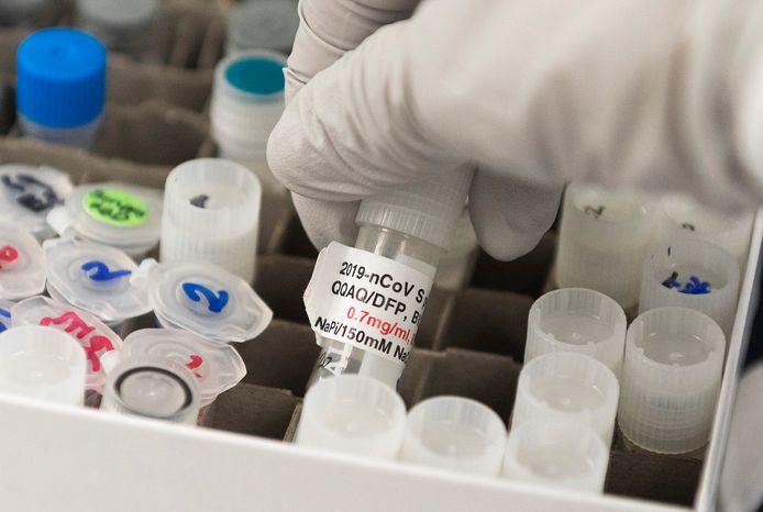 L'entreprise de biotechnologie américaine Novavax a réalisé de premiers essais sur des animaux d'un vaccin unique combinant ceux qu'elle développe séparément contre la grippe et la Covid-19.