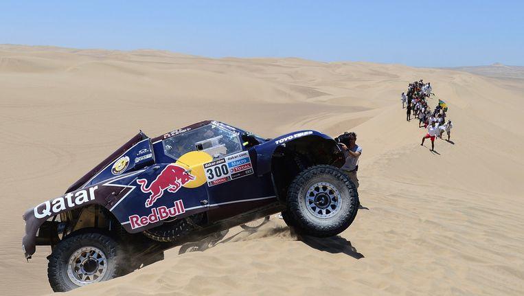De Red Bull van Nasser Al-Attiyah en Lucas Cruz Beeld GETTY