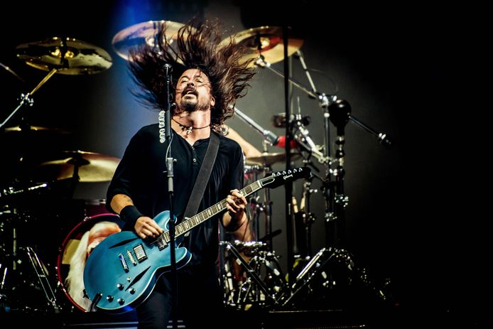 Dave Grohl van Foo Fighters