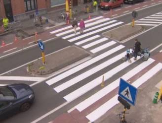 """Meer 'gevleugelde' zebrapaden op komst: """"Autobestuurders stoppen vroeger en geven sneller voorrang"""""""