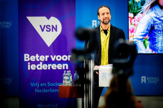Dansleraar Willem Engel staat op plek 3 van de lijst van de nieuwe partij Vrij en Sociaal Nederland.