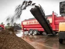 Provincie wil dat groenrecyclingbedrijf Schijndel onmiddellijk stopt met opslag compost