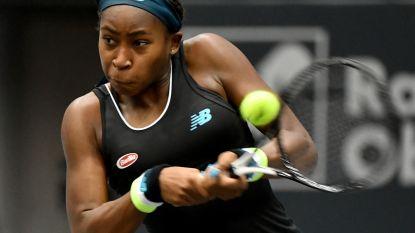 Cori Gauff in finale tegen Jelena Ostapenko in Linz