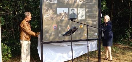 Historisch paneel over vergeten begraafplaats onthuld in Heilig Landstichting