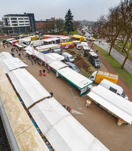 Nog even en de Zevenbergse weekmarkt is weer thuis