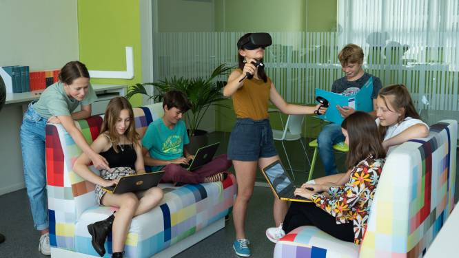 GO!-scholengroep wint Belgian Game Award met zelfontworpen revolutionair educatief spel VR-Kuub