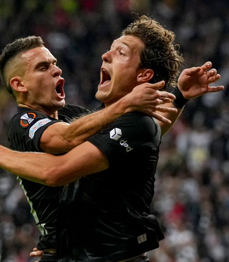 Sam Lammers redt punt voor Frankfurt, Bosz met Lyon simpel langs Rangers