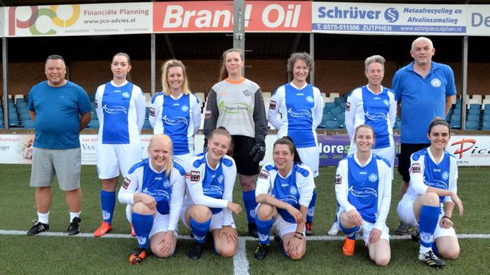 Het eerste vrouwenelftal van Be Quick is een feit.