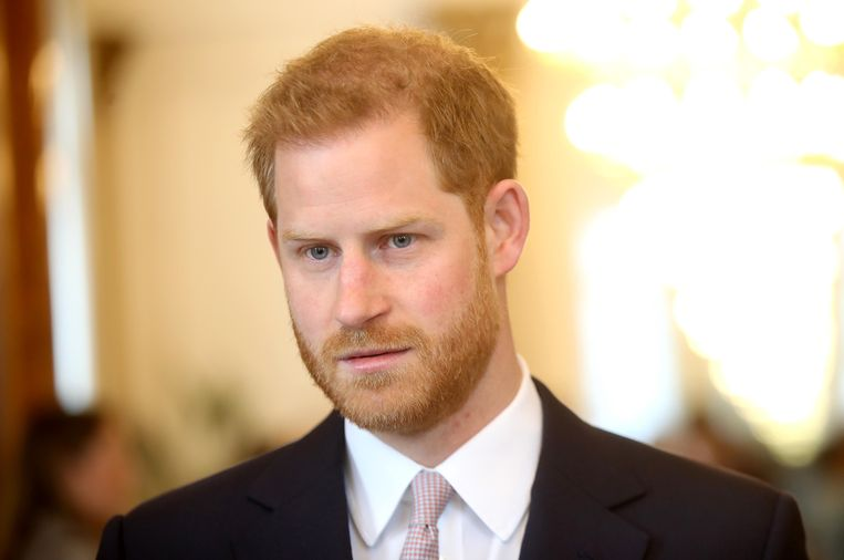 Prins Harry. Beeld Getty Images