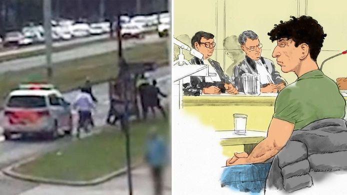 Het Openbaar Ministerie heeft tot honderd dagen celstraffen geëist tegen drie familieleden van de trouwstoetmepper in Rotterdam.