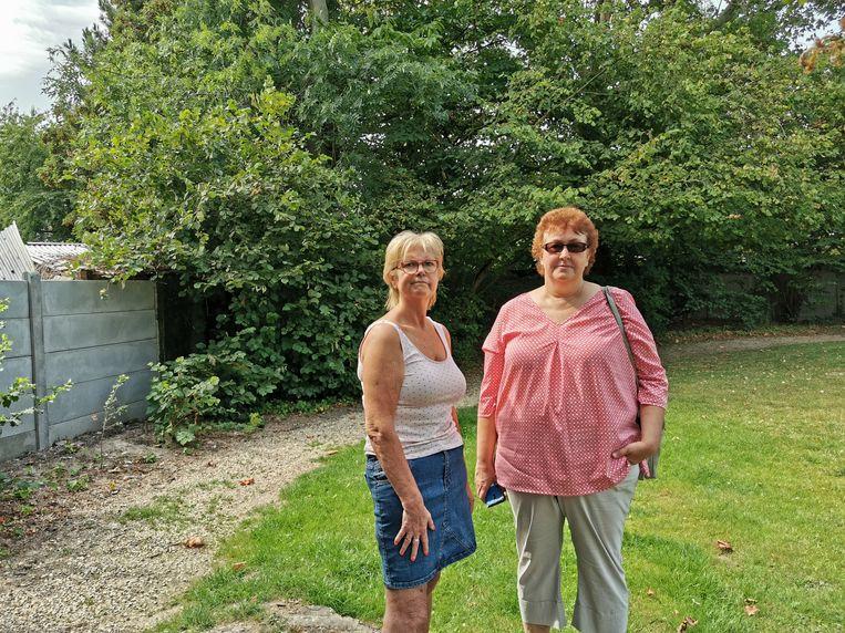 Bewoonster Betty De Winter en Linda Moreels van vzw Nine Lives.