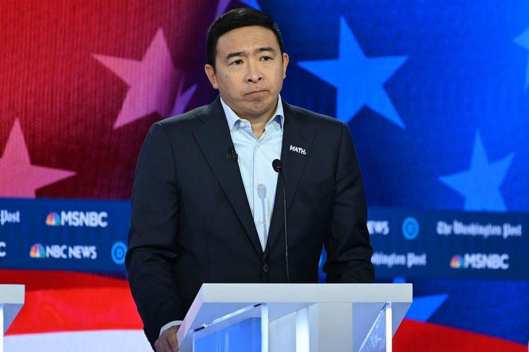 De Democraat Andrew Yang. Beeld AFP