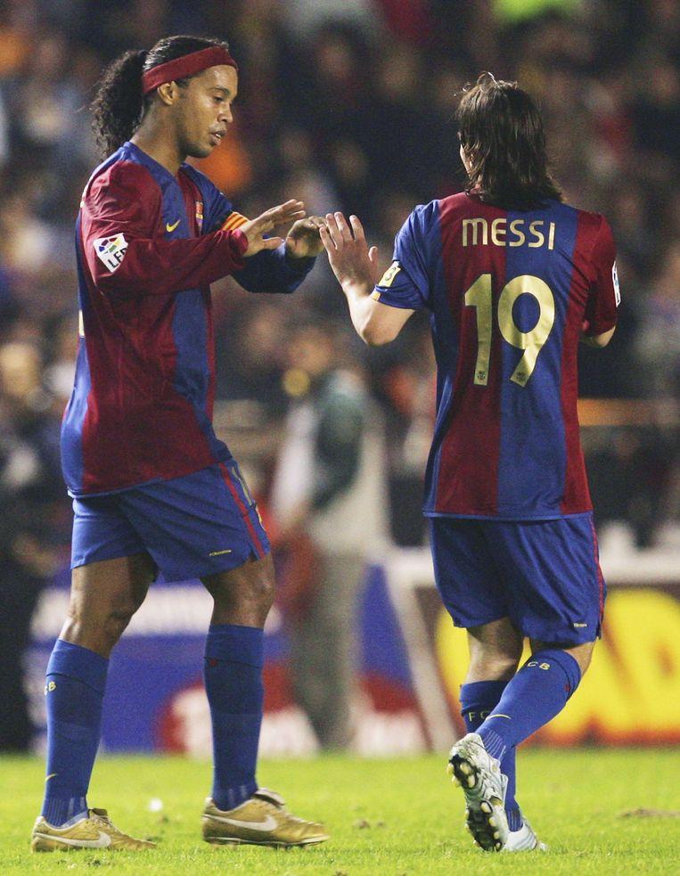 'Spelertjes als Messi hoef je niets te leren.' Beeld Getty Images