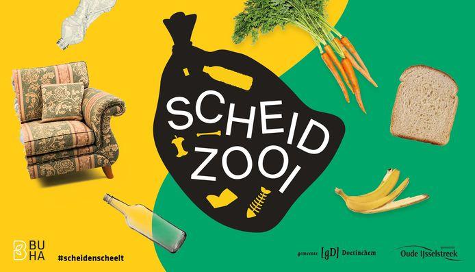 Scheidzooi is de naam van de campagne die in Doetinchem en Oude IJsselstreek wordt gehouden.