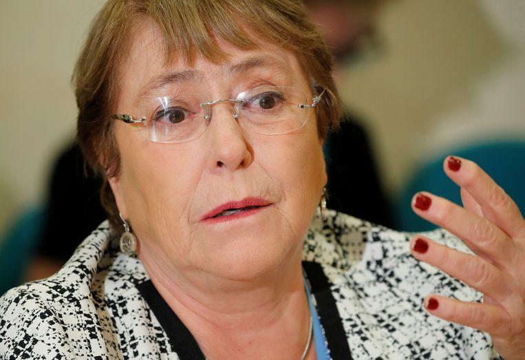 Michelle Bachelet. Beeld REUTERS