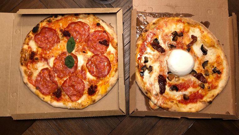 De Diavola is top, met zijn zachte mozzarella, smakelijke ventricinaworst en 'nduja, een pittige smeerbare salami. Beeld Monique van Loon