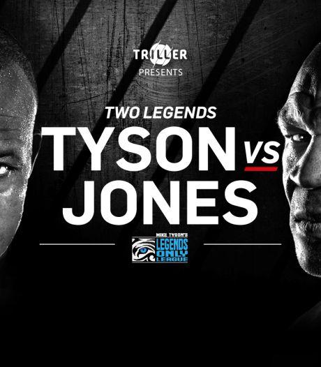 Rentree van bokslegende Mike Tyson (54) eindigt onbeslist